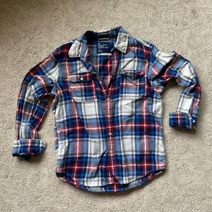 Men's AE flannel button up